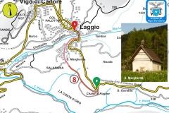 8. Laggio - Salagona - Costa d'Oro - Fogher