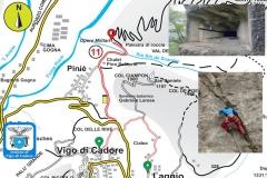 """11. """"Pino Solitario"""" - Palestra roccia - Opere militari"""