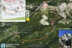 Laggio di Cadore - Ciadin - Bivacco Spagnolli