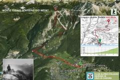 """Monte Tudaio - Sentiero """"Dei Mede"""""""
