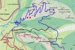 Il forte del monte Tudaio