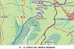 Il forte del monte Miaron